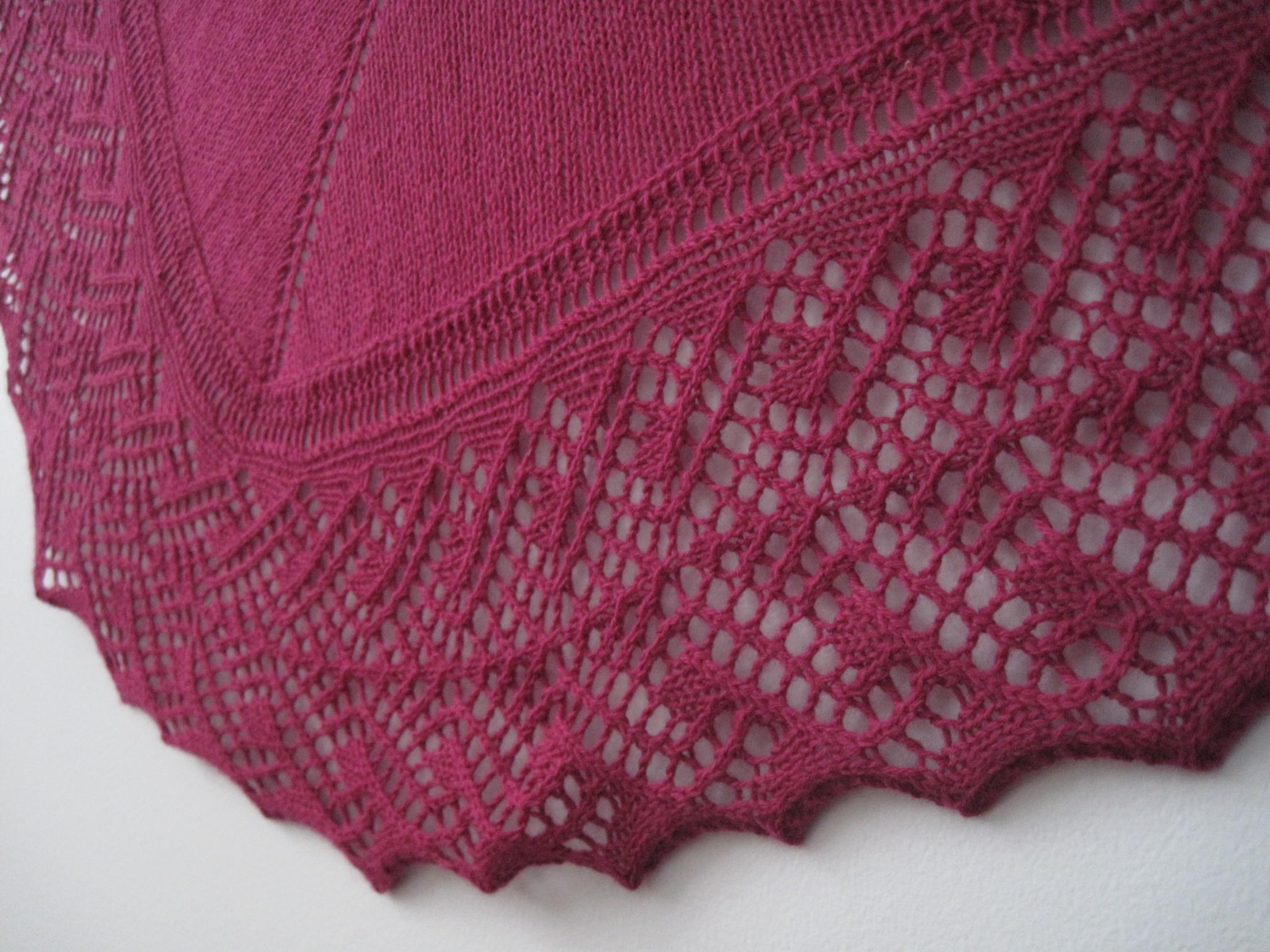 Madison Knitters Guild - Lovely Lace Borders ~ Jen Lucas